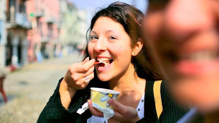 E finalmente si mangia il gelato---